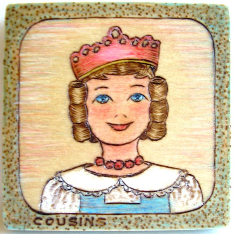 #109, HITTY, Birthday Crown.  Commissioned piece for a very special doll lady!