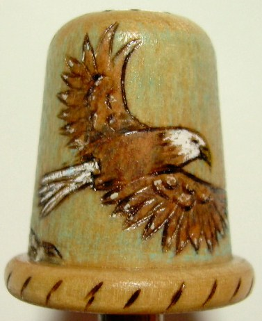 #10, Eagle with mountains.  $15.00, S/H $3.50.  Commissions $20.00