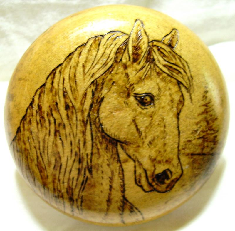 DARNING MUSHROOM, 3&quot; dia., Horsehead, $40.00, $4.25 S/H, commission add $5.00