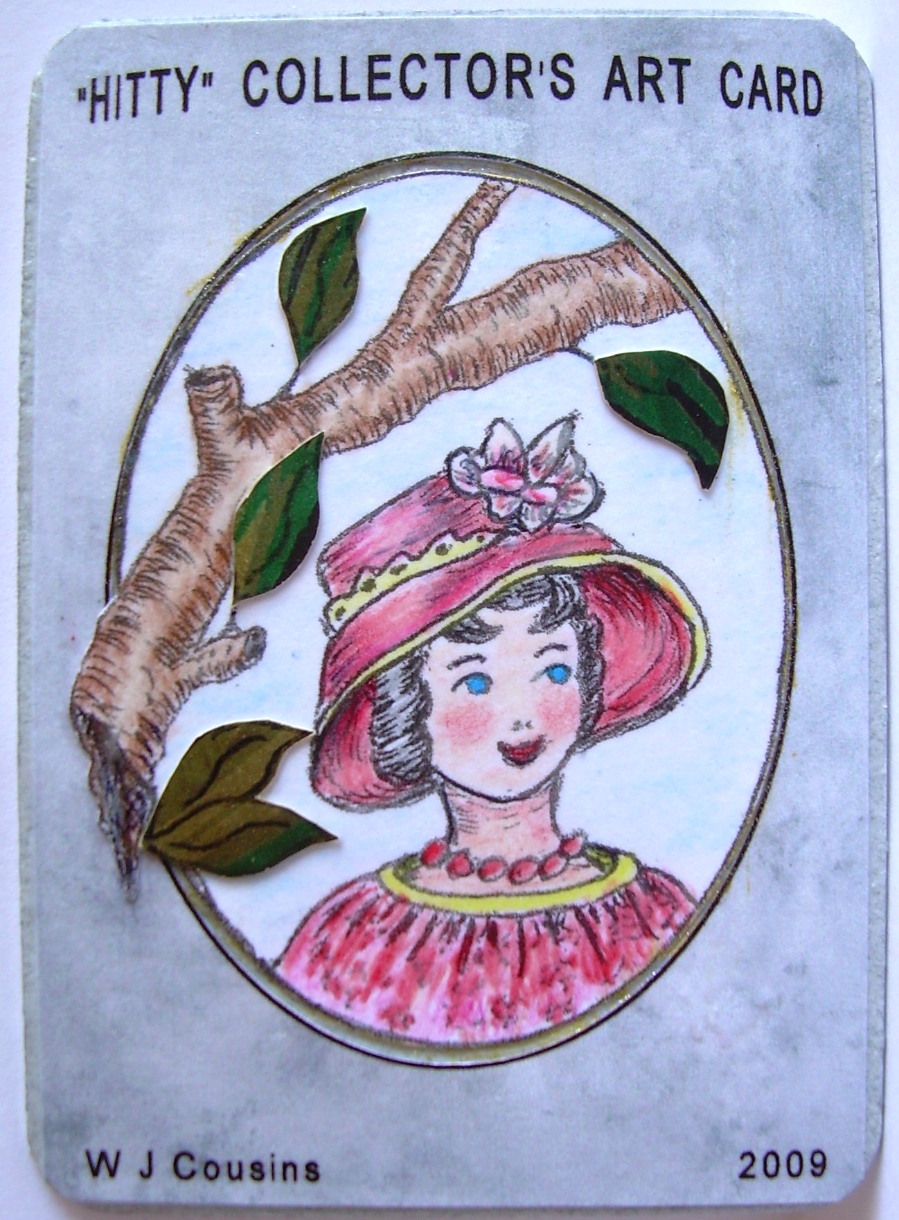 #2, &quot;In Which I Visit A Magnolia&quot;, ORIGINAL $10.00 ship $1., PRINT $5. ship $1.