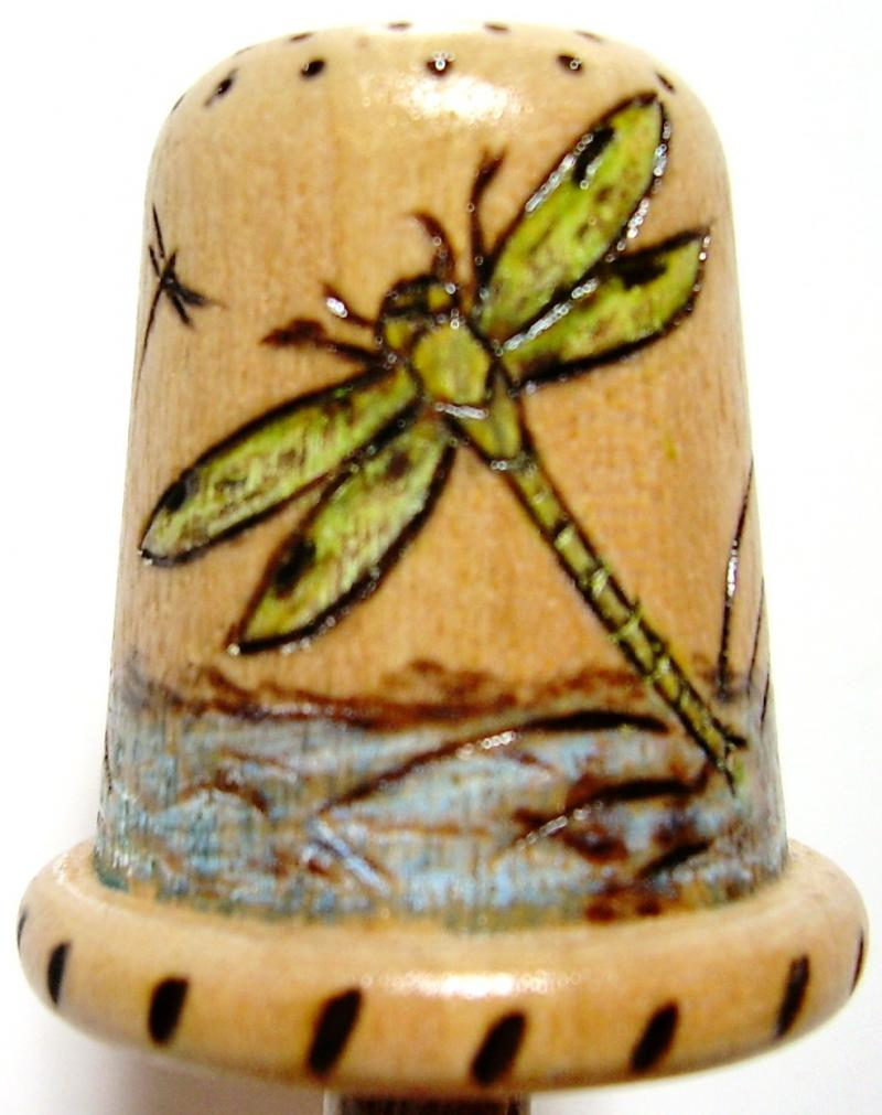 #37, Dragonfly & Cattails.  $15.00, S/H $3.50.  Commissions $20.00