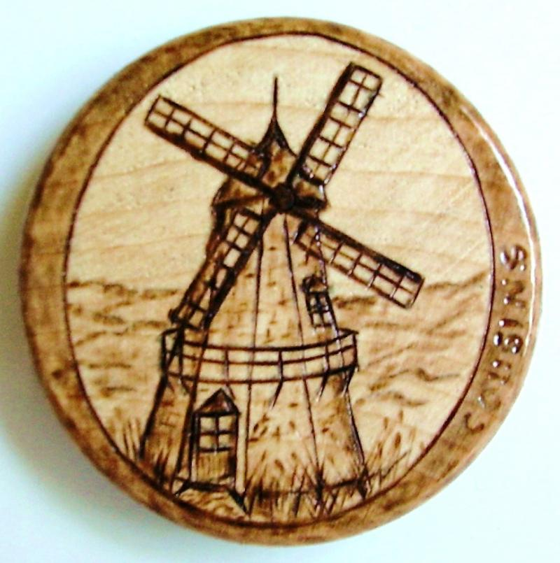 #77, Windmill of Denmark.  $8.00, S/H $3.00.  Commissions $15.00