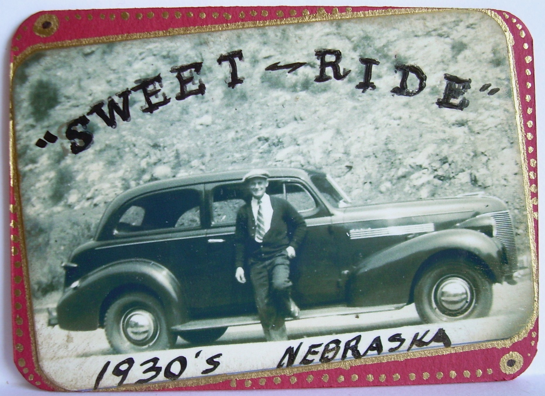 #7, Sweet Ride - 1930&#39;s Nebraska. ORIGINAL $5.00, shipping $1.00 