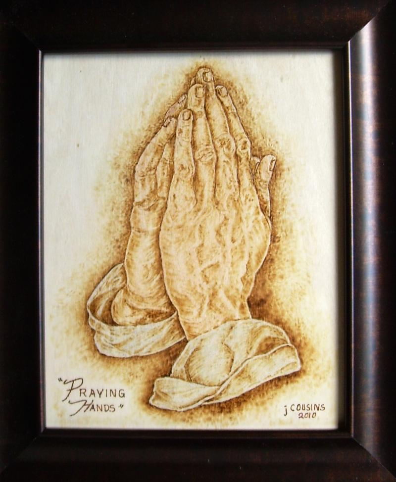 """Praying Hands"" 2010, Double 1st Place Blue Ribbon winner."